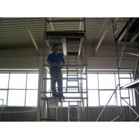 Wholesale Walk Thru Frame Stairway Scaffolding High Tensile for Maintenance / 6M Aluminum alloy tower from china suppliers