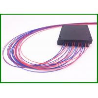 Buy cheap 4pcs 1*2 SM Fused Optical Splitter in 100*80*10mm box with 0.9mm cable from wholesalers