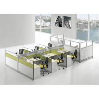 Wholesale Modular Furniture Office Cubicle Workstation Office Wooden Computer  Design Table from china suppliers