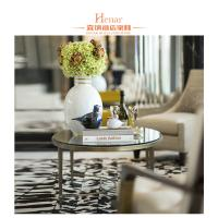 Wholesale Hotel Luxury Living Room Furniture , Modern Stainless Steel Round Marble Table End from china suppliers