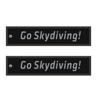 Wholesale Go Skydiving Scube Embroidery Keychains from china suppliers