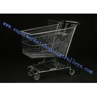 Wholesale American Supermarket Customized Steel Material Wholesale Push Carts from china suppliers