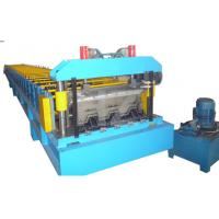 Wholesale Steel Structure Floor Deck Roll Forming Machine For Roof Deck , Steel Tile TW-FD1250 from china suppliers