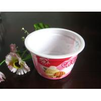 Wholesale 250ml White Disposable Ice Cream Cups Eco Friendly For Salad PET from china suppliers