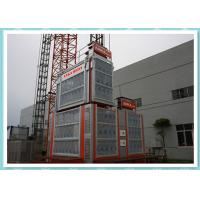 Wholesale Double Cage Rack And Pinion Elevator Hoist Platform For Bridge / Tower from china suppliers
