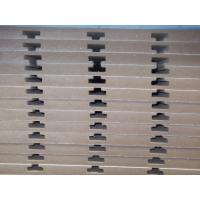 Wholesale 18mm Grooved Slotted MDF / Slot Medium Density Fiberboard With Aluminium from china suppliers