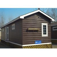 Buy cheap Maldives Sandwich Panel Prefab House , Low Cost Prefabricated Houses 3 Bedrooms With Toilet from wholesalers