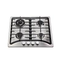 Wholesale Built In Stainless Steel Top Auto Ignition Gas Stove 4 Burner 580 * 500mm from china suppliers