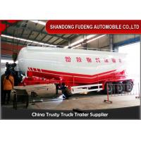 Wholesale 12 Tyre Pneumatic Dry Bulk Cement Tanker Trailer 45-55 Ton 35cbm - 55cbm from china suppliers