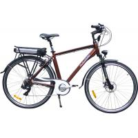 Wholesale Full Suspension Battery Powered City Foldable Electric Bicycle With 3 Levels PAS Speed from china suppliers