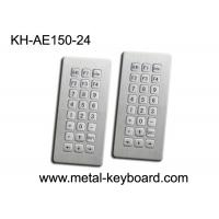 Wholesale Top panel mounting 24 Keys Stainless Steel Keyboard Industrial Waterproof from china suppliers