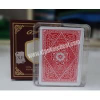 Wholesale GYT Texas Holdem Plastic Back Side Marked Playing Cards For UV Contact Lenses from china suppliers