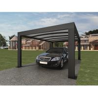 Wholesale Anthracite Garden Shade Netting / Carport Cubus Single Genua Induction Garage from china suppliers