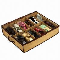 Wholesale Shoes Under Shoes Organizer with Sturdy Nylon Handle  from china suppliers