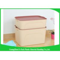 Wholesale Economic Large Plastic Clear Storage Boxes Waterproof Space Saving Big Capacity from china suppliers