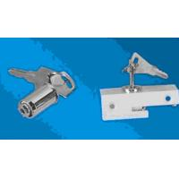Wholesale Stainless steel White Foldable Refrigerator Or Freezer Door Lock With Key OEM from china suppliers