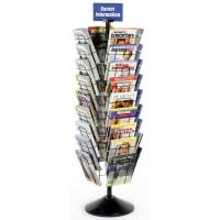 Wholesale Floor Magazine Display Racks with 36 Pockets for Advertising Agencies from china suppliers