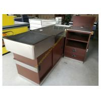 Wholesale OEM Supermarket Checkout Counter / Stainless Steel Cash Register Table from china suppliers