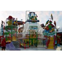 Wholesale Custom Funny Outside Water Sprayground for Family Entertainment Amusement Park Equipment from china suppliers