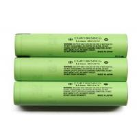 Wholesale High Capacity 3.6V Cylindrical Lithium Battery 2250mAh , Panasonic 18650 Battery from china suppliers