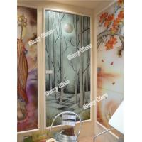Wholesale Decorative Glass Partition for Office and restaurant from china suppliers