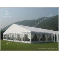 Wholesale Luxury Fully Decorated 20X20 Party Tent With Sidewalls , Outdoor Party Marquee from china suppliers