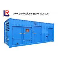 Wholesale 20 Or 40 Feet Container Generator / Gen Set 800kva - 1880kva With Cummins Engine from china suppliers