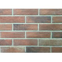 Wholesale Durable Heat Resistant Artificial Wall Thin Veneer Brick Tiles For Outdoor 12mm Thickness from china suppliers