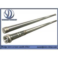 Wholesale Stainless Steel Slot Tube Candle Filter With End Fittings from china suppliers