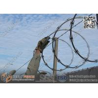 Wholesale CBT-65 O.D500mm Galvanised Single Coil Razor Wire Barriers   Anping Razor Wire Factory from china suppliers