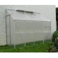 Wholesale Silver White Waterproof Garden Lean To Greenhouse kits With Powder Coated Metal Frame from china suppliers