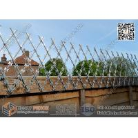 Wholesale Welded Ripper Razor Mesh Fencing 150X300mm Rhombus Hole | 1.2m height | 6m width from china suppliers