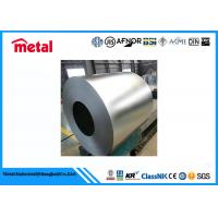 Wholesale Thin Metal Strip Cold Rolled Galvanized Steel Coil , 2B / BA / NO.4 Galvanized Steel Sheet from china suppliers