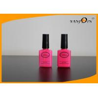 Wholesale 20ml High Cap PET Empty Fingernail Polish Bottles Logo Printing with Black Brush from china suppliers
