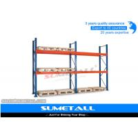 Wholesale Heavy Duty Long Span Shelving Industrial Pallet Racks For Home / Garages from china suppliers