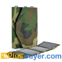 Wholesale Weatherproof 10Watt Solar Battery Charger (Camo Print, USB & 10 Connectors) from china suppliers