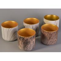 New Arrival Custom Votive Ceramic Candle Vessels Holders For Decor