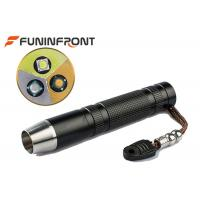 Wholesale 3 Light Source Pro Jade LED Flashlight Working with 18650 Li-ion Battery from china suppliers