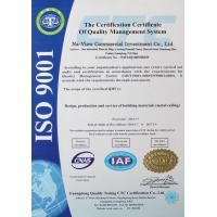 Guangdong Na-View Commercial Investment Co., Ltd. Certifications