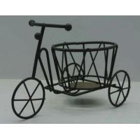 Buy cheap metal tricycle flower pot stand from wholesalers