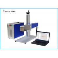 Wholesale 20W Pet Tag Plate Metal Steel Raycus Fiber Laser Marking Machine CE FDA Certification from china suppliers