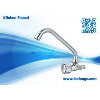 Wholesale Wall Mounted Kitchen Faucet With Zinc Body , Zinc Handle , Iron Pipe from china suppliers