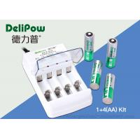 Wholesale ROHS / UL / CE Approved	AA Rechargeable Battery Kit 4 2800mAh from china suppliers