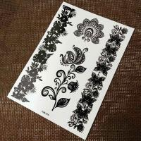 Wholesale Full Color Printing Black Tattoo Sticker For Adults / Children Non Permanent from china suppliers