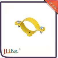 Wholesale Custom Hex Nut Cast Iron Pipe Clamps M8 Welding Clamp Yellow Coating from china suppliers