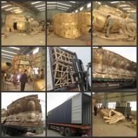 Wholesale outdoor 18 meters high brass sitting buddha from china suppliers