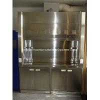 Wholesale Modern Stainless Steel Fume Hood , Cleaning Room Laboratory Fume Hood from china suppliers