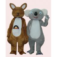 Quality lively kangaroos mascot cartoon costume for party  for sale