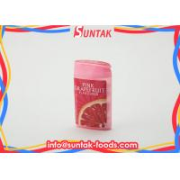 Wholesale Fresh Air Fruits Pressed Grapefruit Flavored Sour Sweets Candy With Sorbitol Xylitol from china suppliers