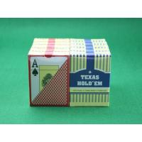 Quality Texas Hold'em Plastic Playing Cards Invisible Ink Markings for UV Contact Lenses for sale